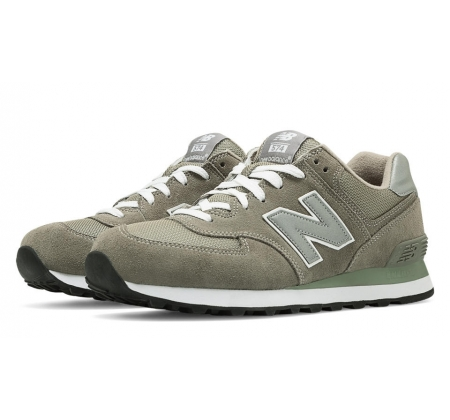 New Balance M574 Grey Suede