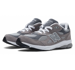 New Balance Kids 990v3 Grey