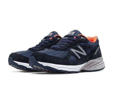 check out 9d454 d606f New Balance W990v4 Navy