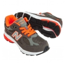 New Balance KJ990 Neon Grey/Orange