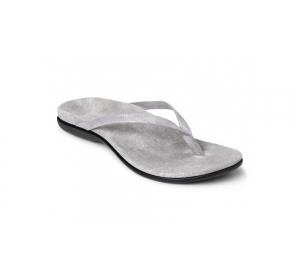 Vionic Corfu Toe Post Silver