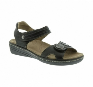 Taos Escape Sandal Black