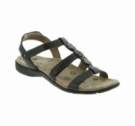 Taos Natural Sandal Black