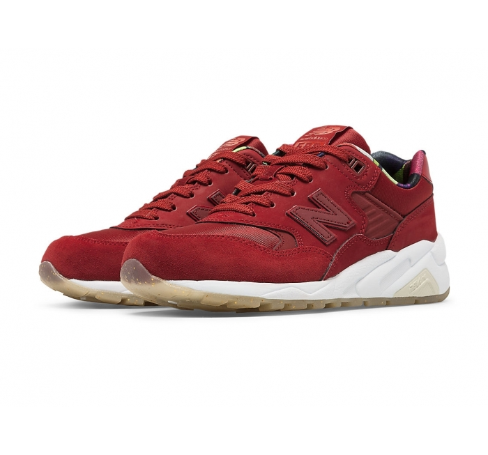 new balance red woman