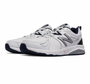 New Balance MX857v2 White/Navy