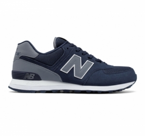 New Balance 574 Reflective Blue