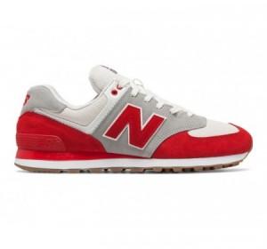 New Balance 574 Retro Sport Red