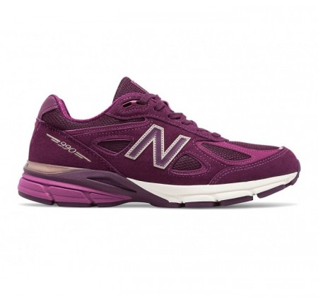 New Balance W990v4 Mulberry
