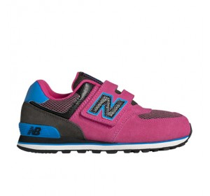 New Balance KV574 Outside In Pink/Blue