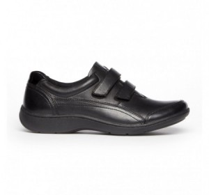 Aravon Bromly Black Leather