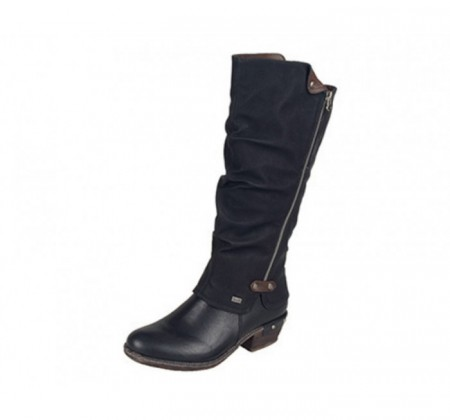 Rieker Bernadette Boot Black