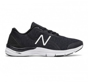 New Balance 711v3 Heathered Trainer Black