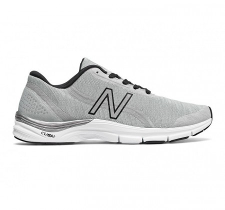 New Balance 711v3 Heathered Trainer Steel