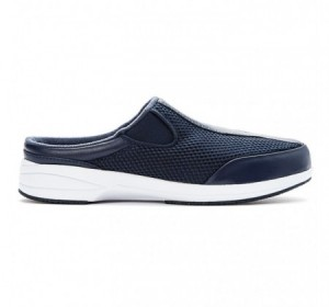Propet Washable Walker Slide Navy