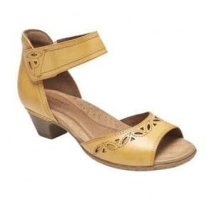 Rockport Abbott 2 Pc Ankle Yellow