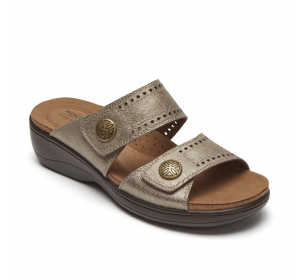 Rockport Maisy 2 Band Dove Metallic
