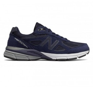 New Balance M990v4 Reflective Navy