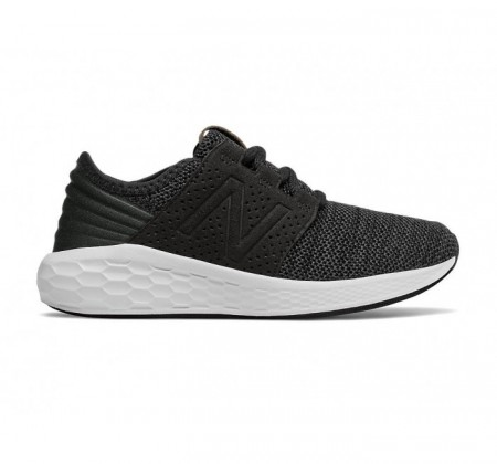 New Balance Grade-school Fresh Foam Cruz Knit v2 Black