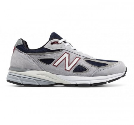 New Balance M990v4 Grey w/Navy