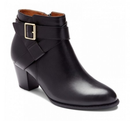 Vionic Trinity Ankle Boot Black