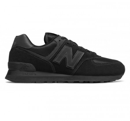 best loved e5fa6 12bee New Balance 574 Core Blackout