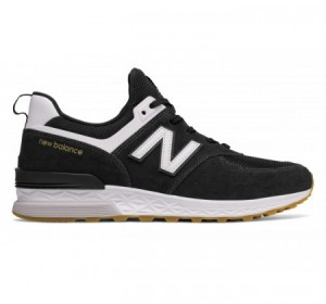 New Balance MS574 Sport Black/White