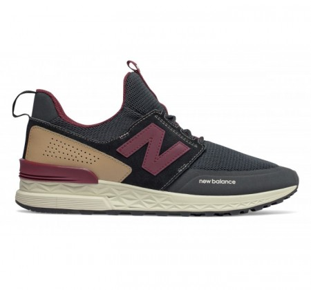 New Balance MS574 Sport Decon Black