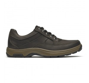 Dunham Midland Waterproof Oxford Brown Nubuck