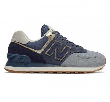 New Balance WL574 Metallic Patch Reflection