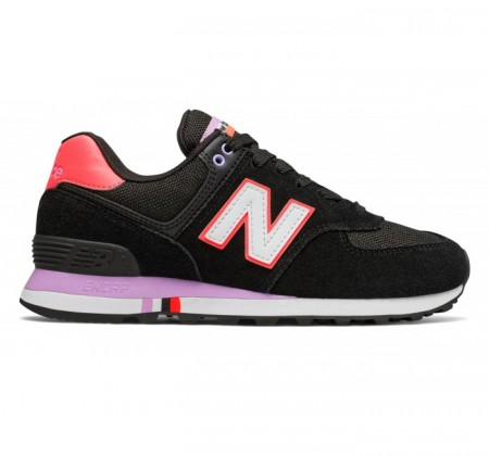 New Balance WL574 Summer Shore Black