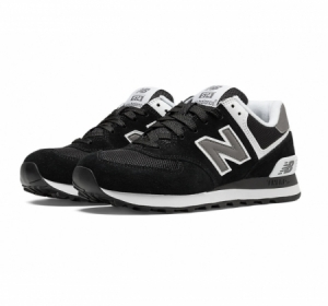 new balance 574 suede shoe