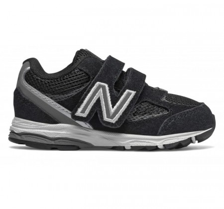 New Balance Infant 888v2 Hook and Loop Black