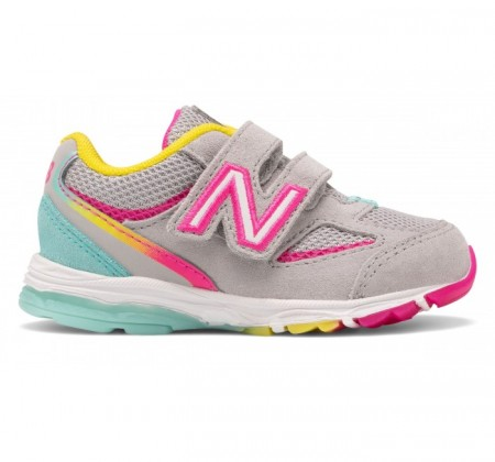 New Balance Infant 888v2 Hook and Loop Rainbow
