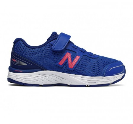 New Balance Kids 680v5 Hook and Loop Pacific