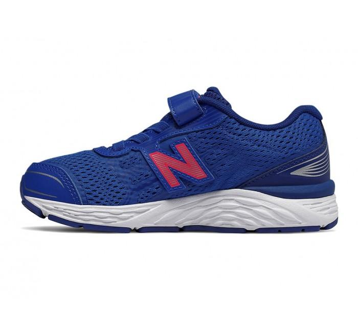 New Balance Kids 680v5 Hook \u0026 Loop Blue