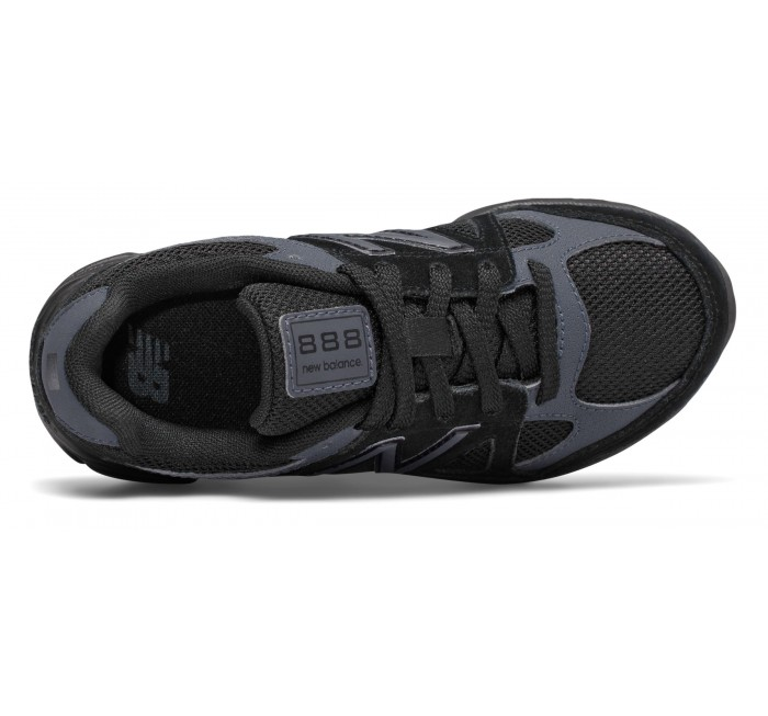 promo code 2087f 9d458 New Balance Grade-school 888 All Black [KJ888BTG] A Perfect ...