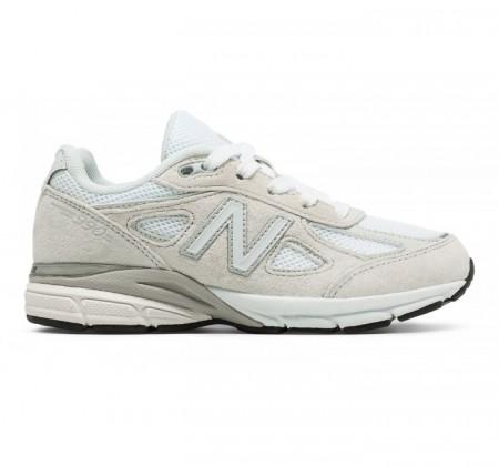 separation shoes a1e85 79f93 New Balance Grade-school 990v4 White