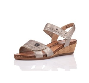 Rieker Fango Bronze Wedge