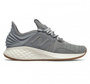 New Balance Women's Fresh Foam Roav Knit Gunmetal