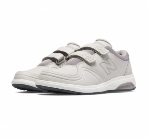 New balance women's 813 velcro grey walking shoes