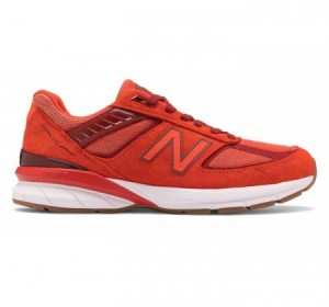 New Balance Made in US M990v5 Molten Lava Red