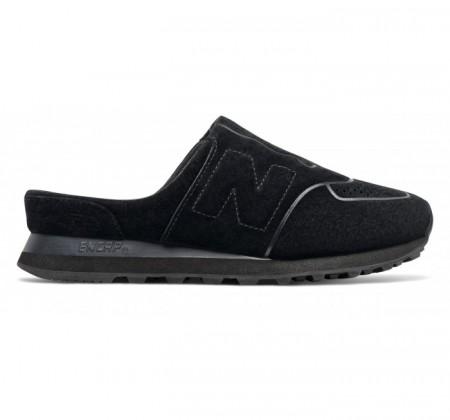 New Balance Women's 574 Slide Black