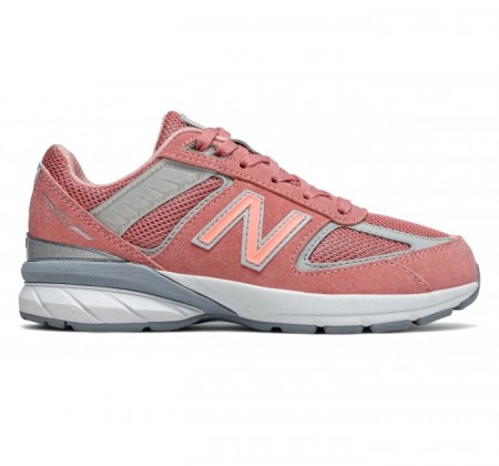 New Balance Little Kids 990v5 Cosmic Coral