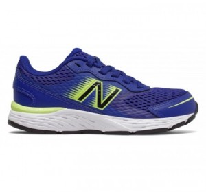 New Balance Youth 680v6 Marine Blue