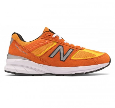 New Balance Made in US M990v5 Orange Hi Lite