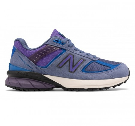 New Balance Made in US W990v5 Trail Magnetic Blue