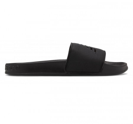 New Balance Men 200 Slide Black Patent Pop