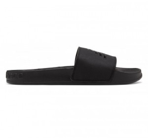 New Balance Women's 200 Slide Black Patent Pop