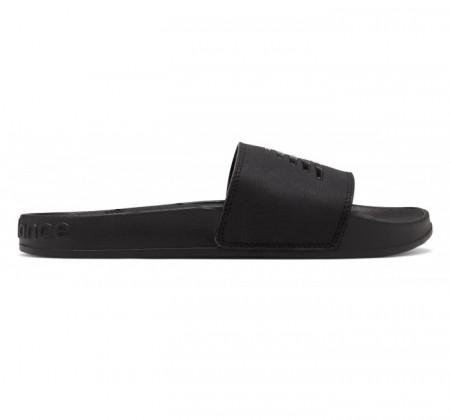 New Balance Women's 200 Slide Black Patent Pop
