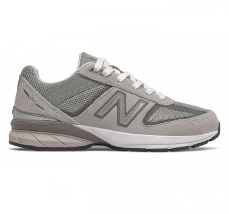 New Balance Big Kids 990v5 Grey
